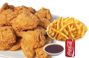 Broaster Chicken Combo